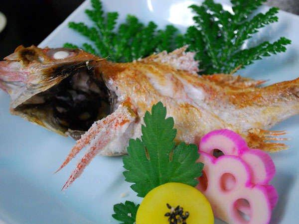 能登河豚魚露鍋・照燒紅鱸魚